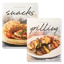 Snack and Grilling: Delicious Recipes for A Healthy Life by Neri Michela