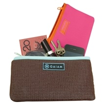 Gaiam Yoga Clutch Cocoa