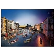 Stephen Wilkes Day to Night Regata Storica Venice 1036pc
