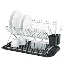 Avanti Inox RenoxProfile Two Tier Stainless Steel Dish Rack