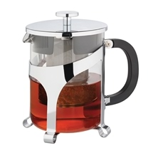 Avanti Tea Press Glass Chrome Teapot 1 litre
