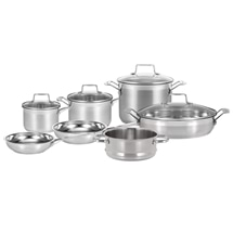 Scanpan Impact 7pc Stainless Steel Cookware Set