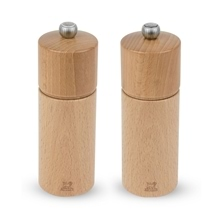 Peugeot Chatel Duo Salt and Pepper Mill Set Natural 16cm
