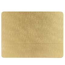 Ashdene Abode Gold Texture 4pk Cork Backed Placemat