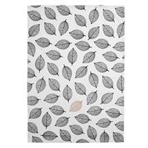 Ashdene Lantana Black & Gold Kitchen Towel