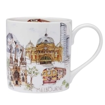 Ashdene Cityscapes Melbourne City Mug