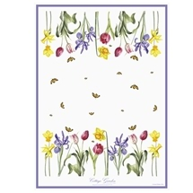 Ashdene Cottage Garden 100% Cotton Kitchen Tea Towel
