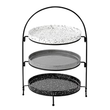 Ladelle Terrazzo Assorted 3 Tier Round Serving Tower