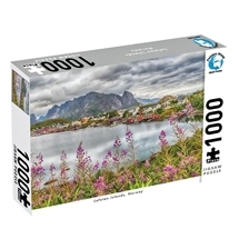 Puzzlers World Lofoten Island Norway 1000pc Puzzle