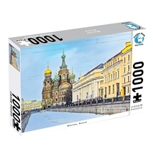 Puzzlers World Moscow Russia 1000pc Puzzle