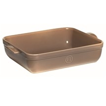 Emile Henry Rectangular Baking Dish 35 x 25.5cm Oak