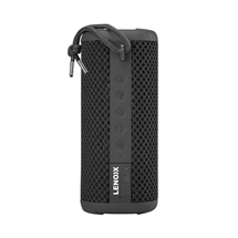 Lenoxx IPX7 Waterproof Portable Bluetooth Speaker Black
