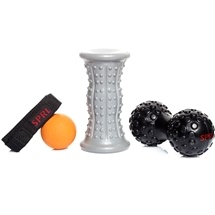 SPRI Recovery Combo Kit Foot & Back Roller