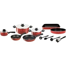 Tefal Tempo Flame 14-Piece Non-Stick Cookware Set