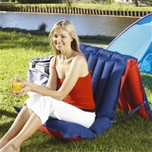 Camping Outdoor Beach Inflateble Chair Mattress Bed