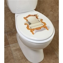 Throne Toilet Seat