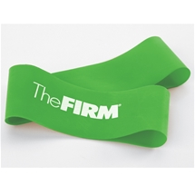 The FIRM Medium Resistance Fitness Exercise Loop Green