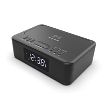 LENOXX CRW30 Wireless Charging Bluetooth Alarm Clock