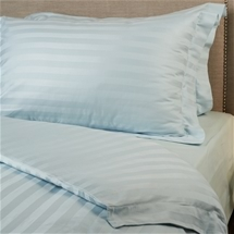Striped Damask Sateen Cotton Quilt Cover Set 375 TC