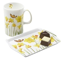 Snack Set Daffodil Design