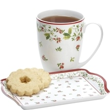 Deck The Halls Christmas Snack Set