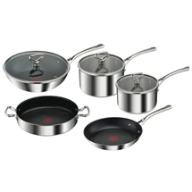 Tefal Reserve Triply 5-Piece Cookware set & lids
