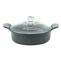 Neoflam Marble 24cm Low Casserole 2.70L Induction
