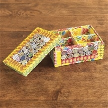 Recycled Paper Jewellery Box
