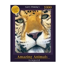 Garry Fleming's Amazing Animals Leopard Face 1000pc Puzzle