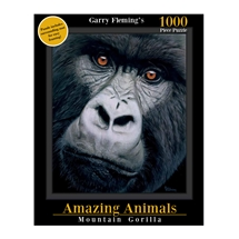 Garry Fleming's Amazing Animals Gorilla Face 1000pc Puzzle