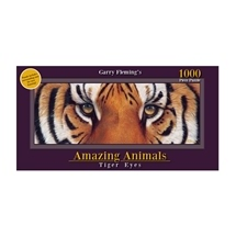 Garry Fleming's Amazing Animals Tiger Eyes 1000pc Puzzle