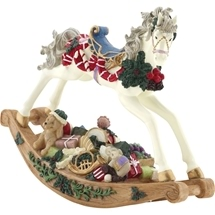 Christmas Rocking Horse with Music
