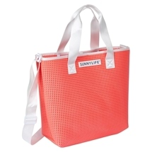 Sunnylife Refresh Tote Bag Neon Coral