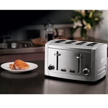Sunbeam Cafe Series® 4 Slice Toaster Stainless Steel