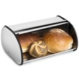 Stainless Steel Roll Top Bread Box Bin Silver_0613395_2