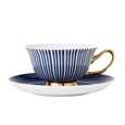 Ashdene Parisienne Navy Cup & Saucer Set Of 4_517645_3
