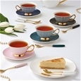 Ashdene Parisienne Assorted Cup & Saucer Set Of 4_517647_5