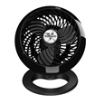 Vornado 460 Small Air Circulator Fan Gloss Black_71460_1