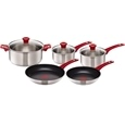 Jamie Oliver Tefal Red Collection Stainless Steel 5 Pc Set_H801S514_0