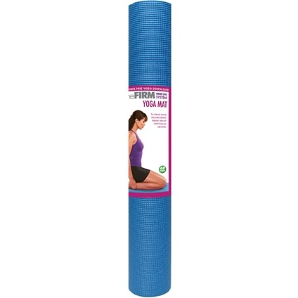 The FIRM Yoga Mat Blue